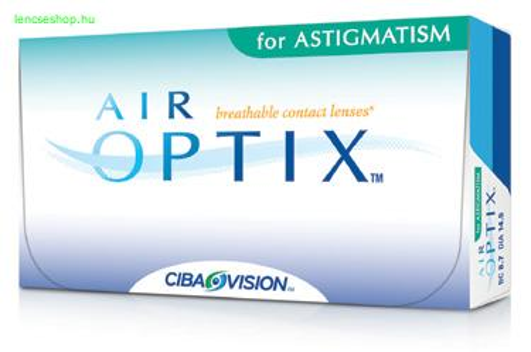 Air Optix for Astigmatism (3db) - szilikon-hidrogél kontaktlencse