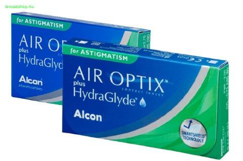 Air Optix for Astigmatism (6db) - szilikon-hidrogél kontaktlencse