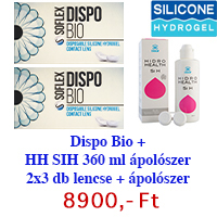 Dispo Bio (2x3db) + Hidro Health 360 ml AKCIÓS!