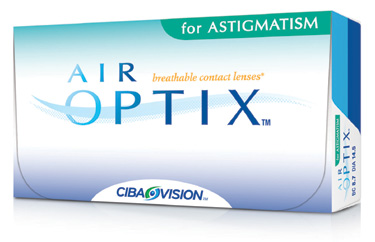 Air Optix for Astigmatism (6db) - szilikon-hidrogél kontaktlencse