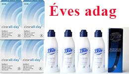 Clear All-Day + Ápolószer (ÉVES ADAG)