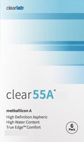 CLEAR 55A (6db) - havi kontaktlencse