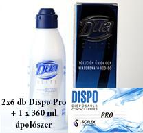 Dispo Pro (2x6db) + 1 db ápolószer ingyenes szállítással