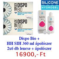 Dispo Bio (2x6db) + 1 db ápolószer ingyenes szállítással