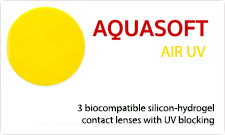 Aquasoft Oxygen 60 - szilikon hidrogél kontaktlencse (3 db)