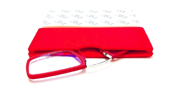 Olvasószemüveg (ragasztható szilikon tokkal)