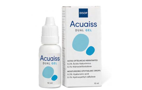 Acuaiss Dual Gél (10ml) - 2 komponensű hidratálós szemcsepp